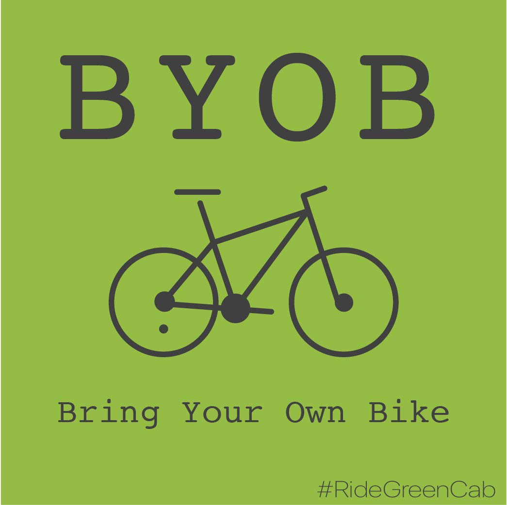 Green Cab Madison >> Green Cab Madison On Twitter Byob All Our Cabs Have Saris Bike