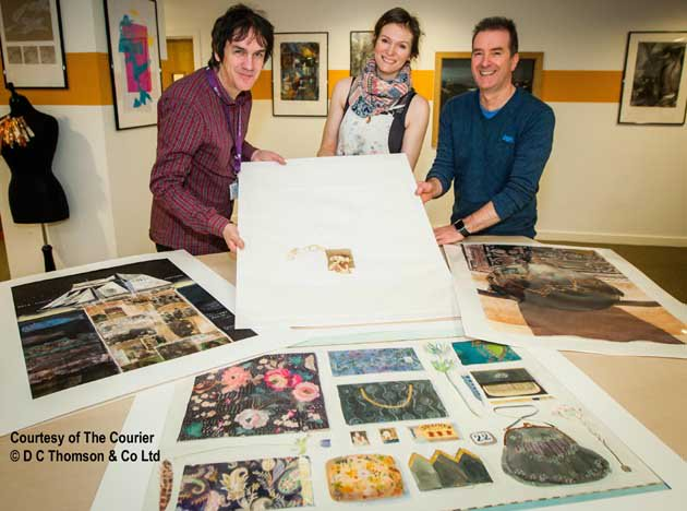 The work of @dundee_angus Art lecturers made up the Scottish contribution to an exhibition in Italy https://t.co/7EYBixPnC7 #Dundee2023 https://t.co/dri7Fs0XfV