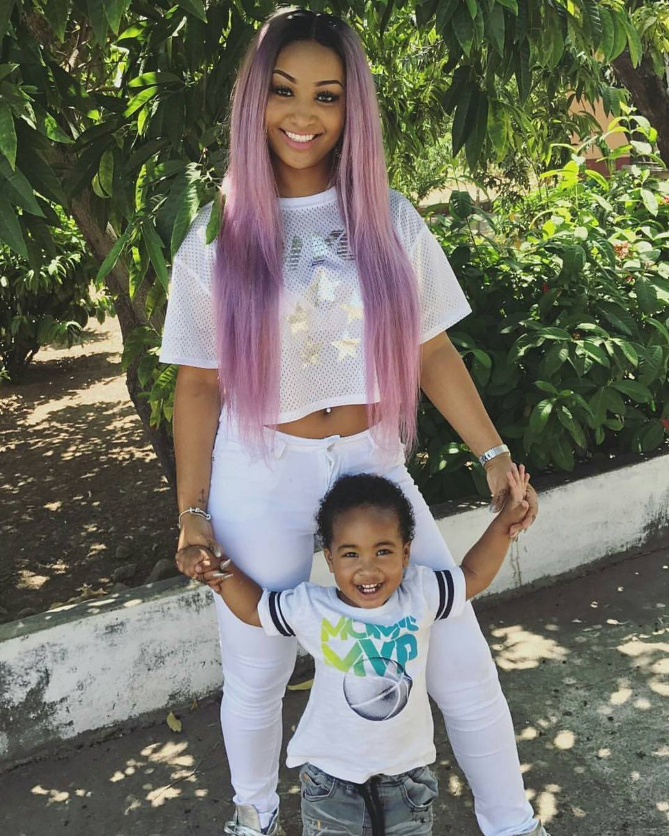 Shenseea is beautiful in #mommymode #workingmom #glammom #beautifulwomen #fun #artist #dancehall #follow4follow #followusnow  #roninmediajm<br>http://pic.twitter.com/YzRjAiTqfb