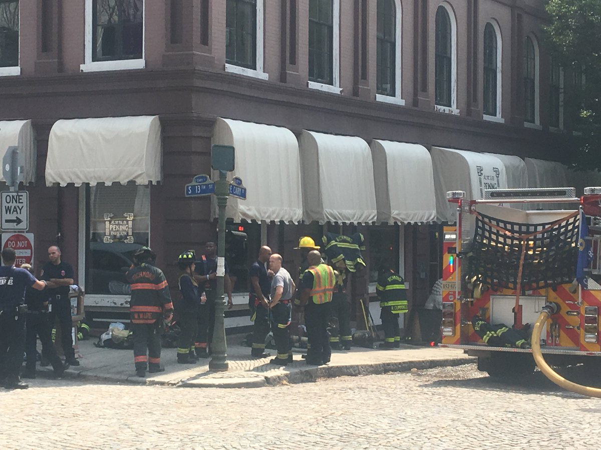 Breaking Fire Reported At Peking Restaurant In Shockoe Slip Https T Co
