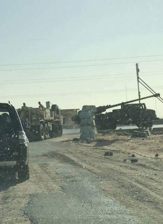 بالصور .. مصر تختبر مدفع الهاوتزر الفرنسي  Caesar  DFMI4-MXYAIDZXb