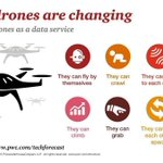 What can #drones do? 7 new and likely surprising #autonomous (and spooky!) capabilities. #UAV #UAS #Drone @PwCDrone