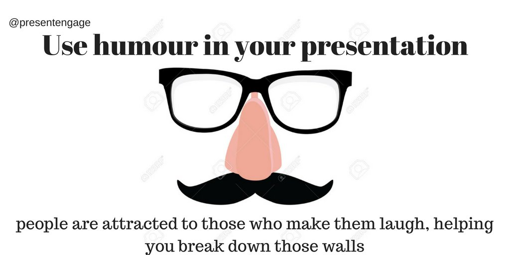 Good #presentations use humour, people are attracted to people who make them laugh #presentationskills #speakingtips #publicspeaking<br>http://pic.twitter.com/EAYvJbPm1u