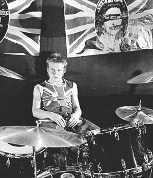 Happy Birthday Paul Cook. Drummer with the Sex Pistols, born on this day in 1956 !