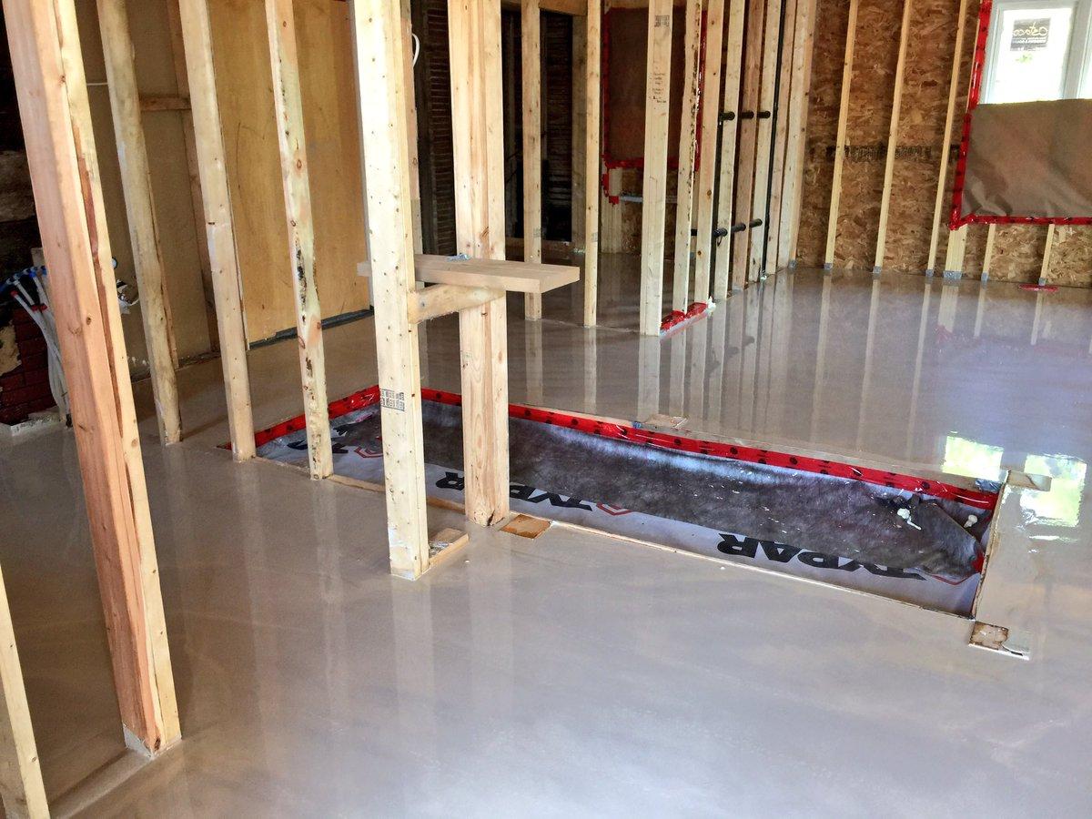 Gulutzen Concrete On Twitter Self Leveling Floor For A House - Self leveling concrete as a finished floor