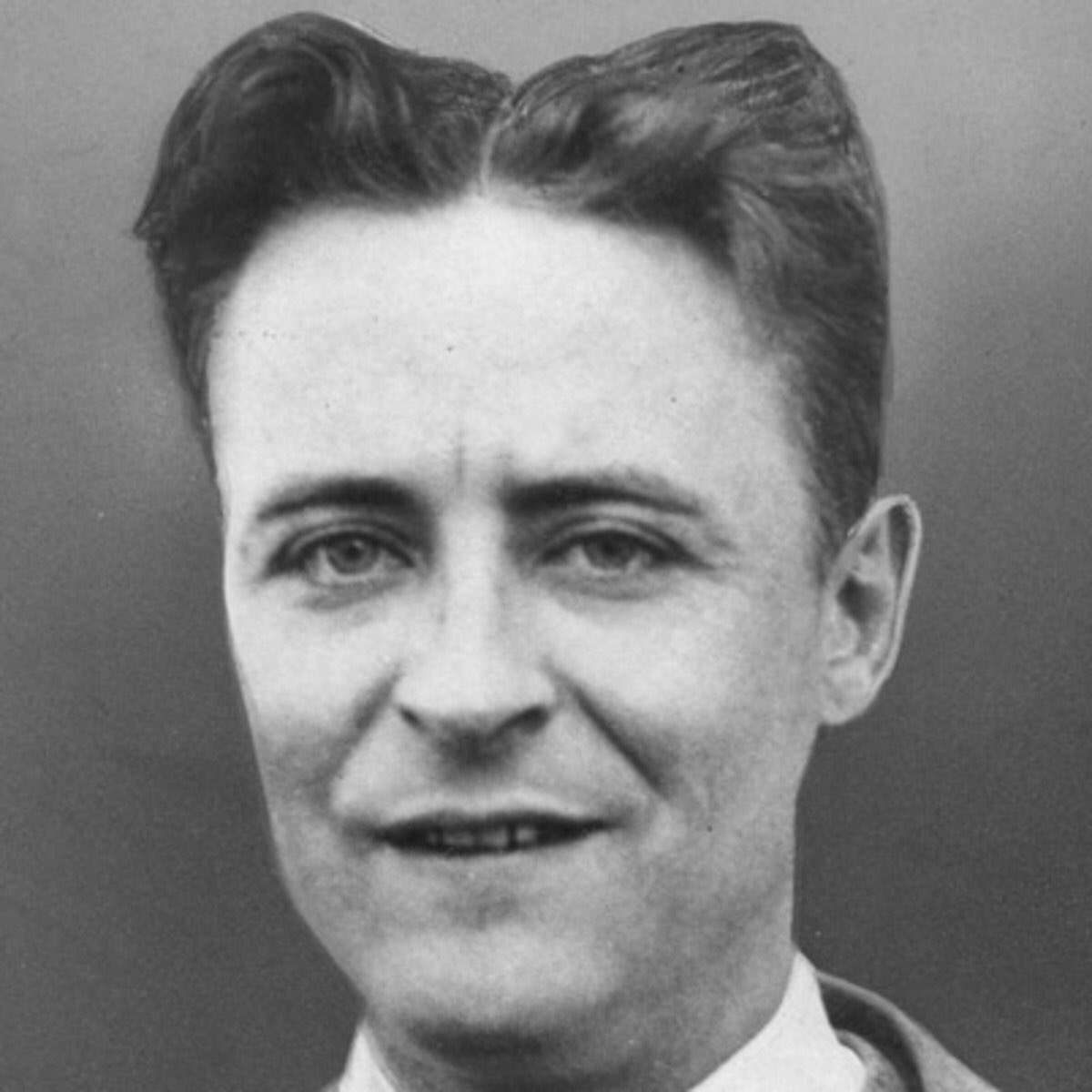 I can't believe this is what F. Scott Fitzgerald's hair looked like. No one ever talks about it.