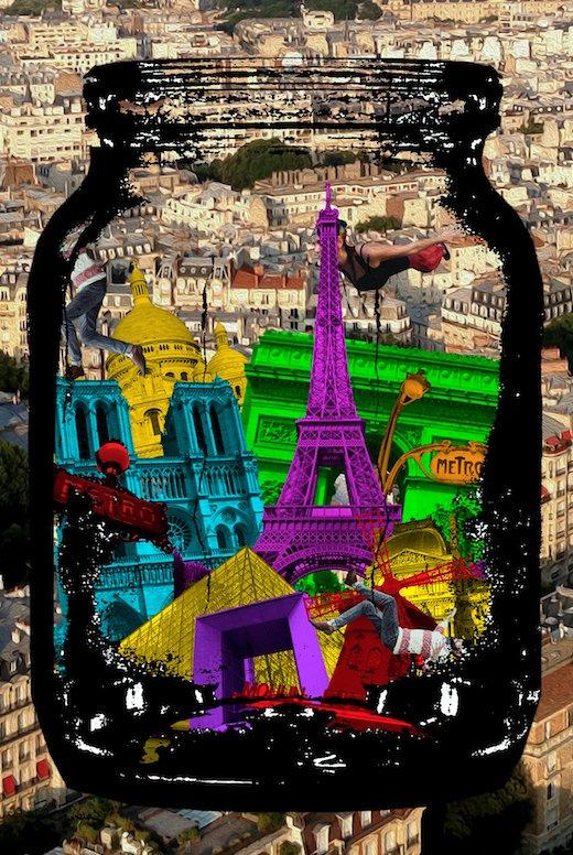 One Day = One Work!  《 Paris est fluorescent 》 Visual Artist  @daliaferreira     https:// day2daygallery.fr  &nbsp;    #art #artwork #VisualArt <br>http://pic.twitter.com/UuRHF5i1d3