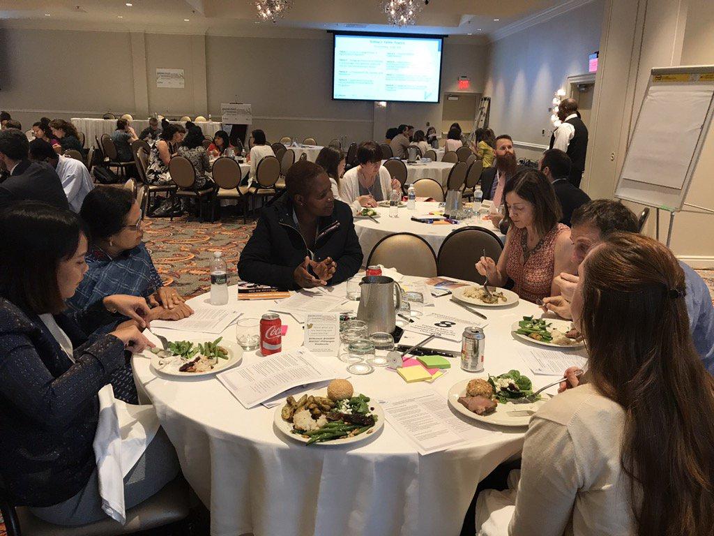 #ksdc17 Gender Mgr of @WorldVisionUSA ENSURE proj leads lunch talk on male engagement for women emp + #foodsecurity https://t.co/6ePTuKthMp