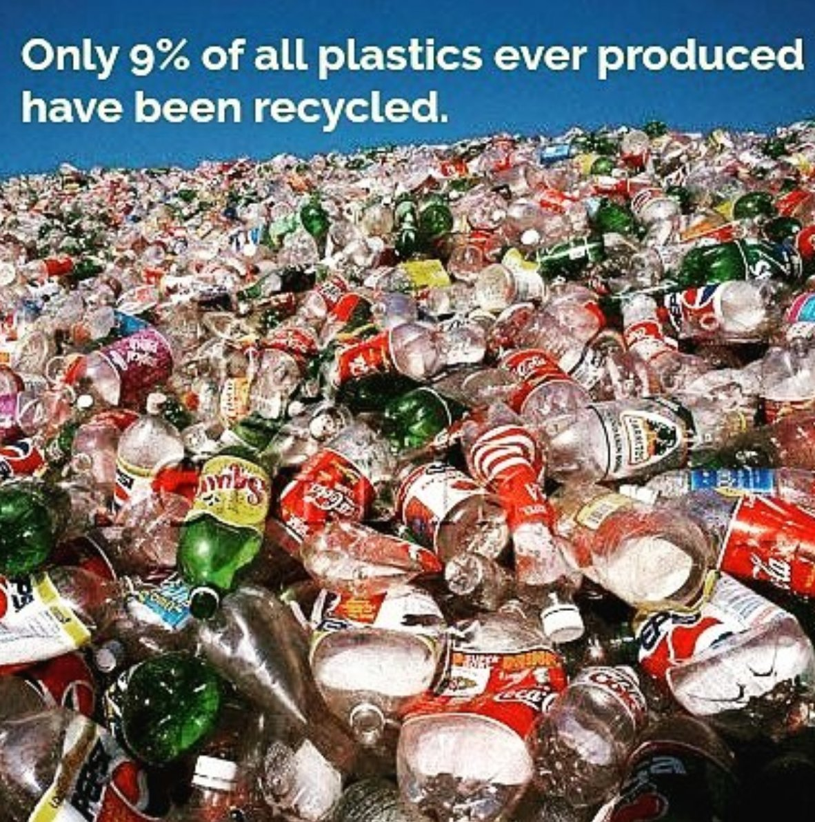 RT to spread awareness! 18.2 trillion pounds of plastics have been made, and only 9% have been recycled. Via @LifeWoutPlastic #recycle <br>http://pic.twitter.com/4wwvAMUfLt