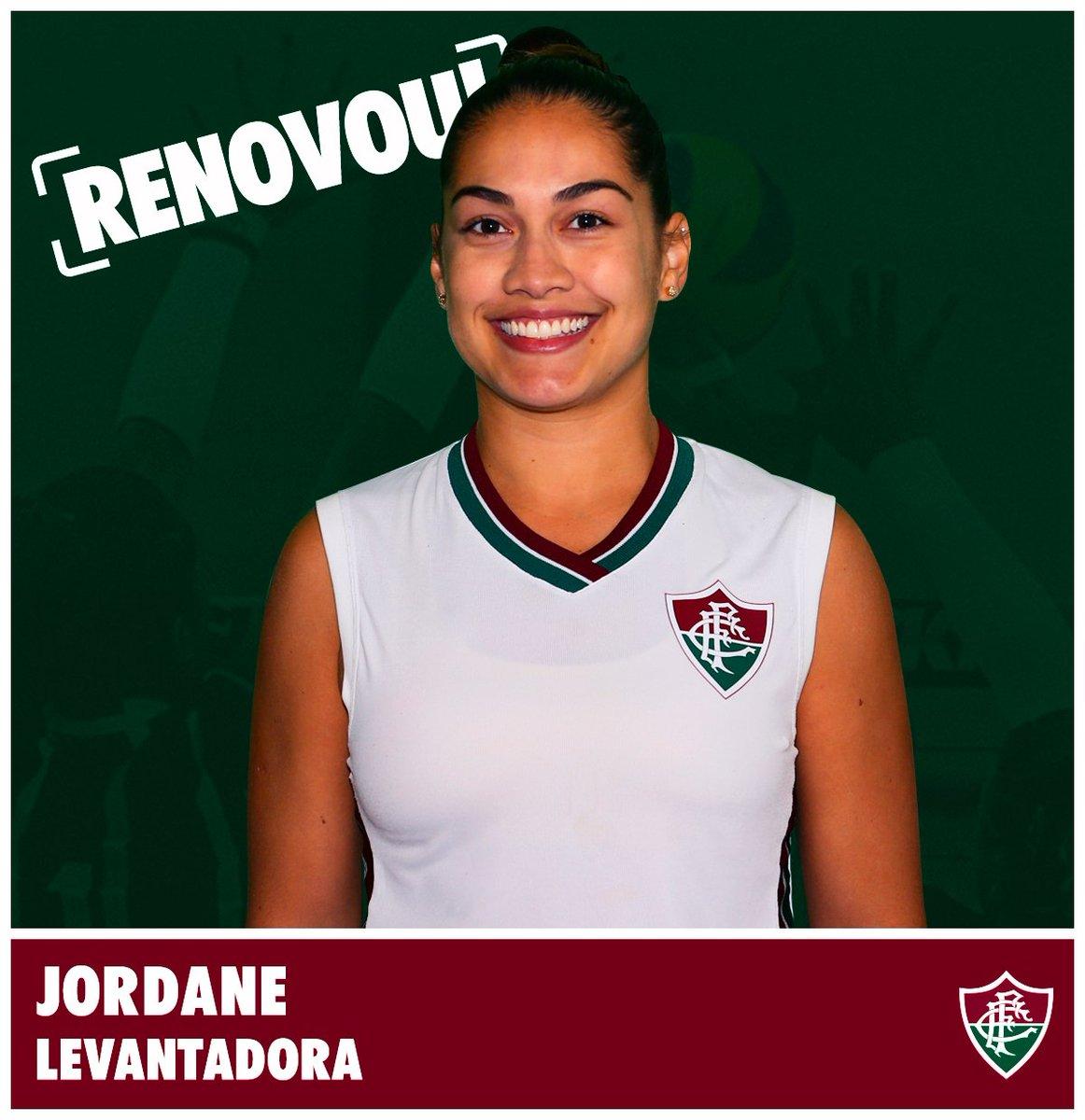 Jordane é mais uma levantadora para o time do Fluzão! 🏐#FluOlímpico