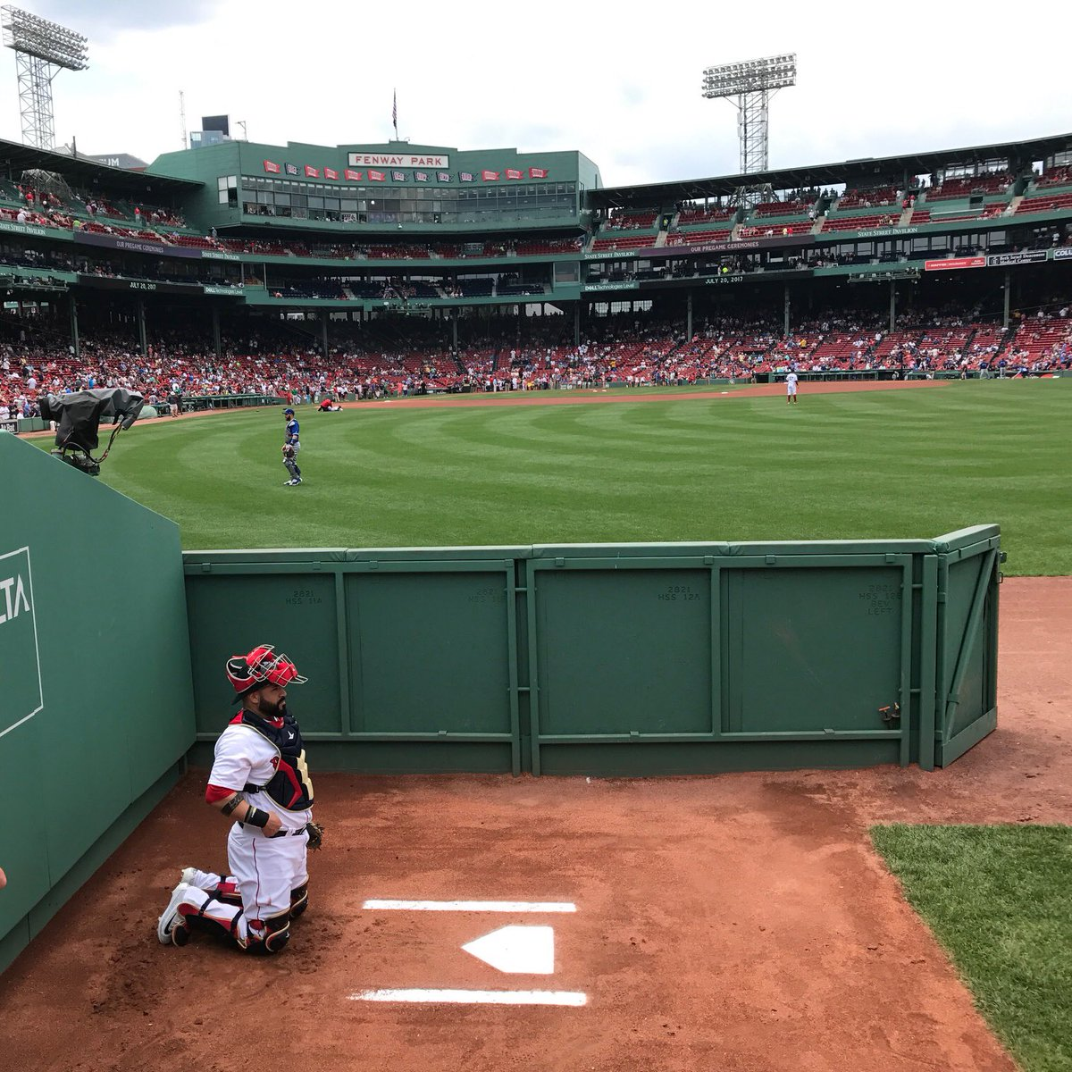 🔋: Fister ➡️ Leon   📺 @NESN  📻 @WEEI & WCEC https://t.co/Ms1YDSsa4...