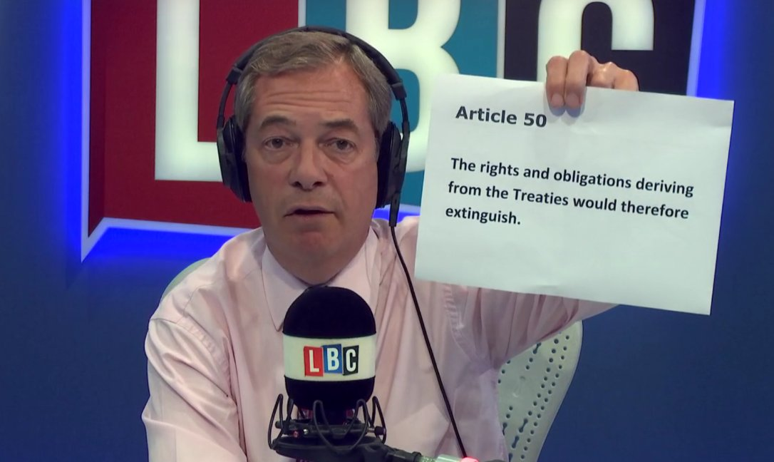 .@Nigel_Farage: After 2020 we have NO obligation to pay anything to the EU https://t.co/aLg9FMJ02x #FarageOnLBC