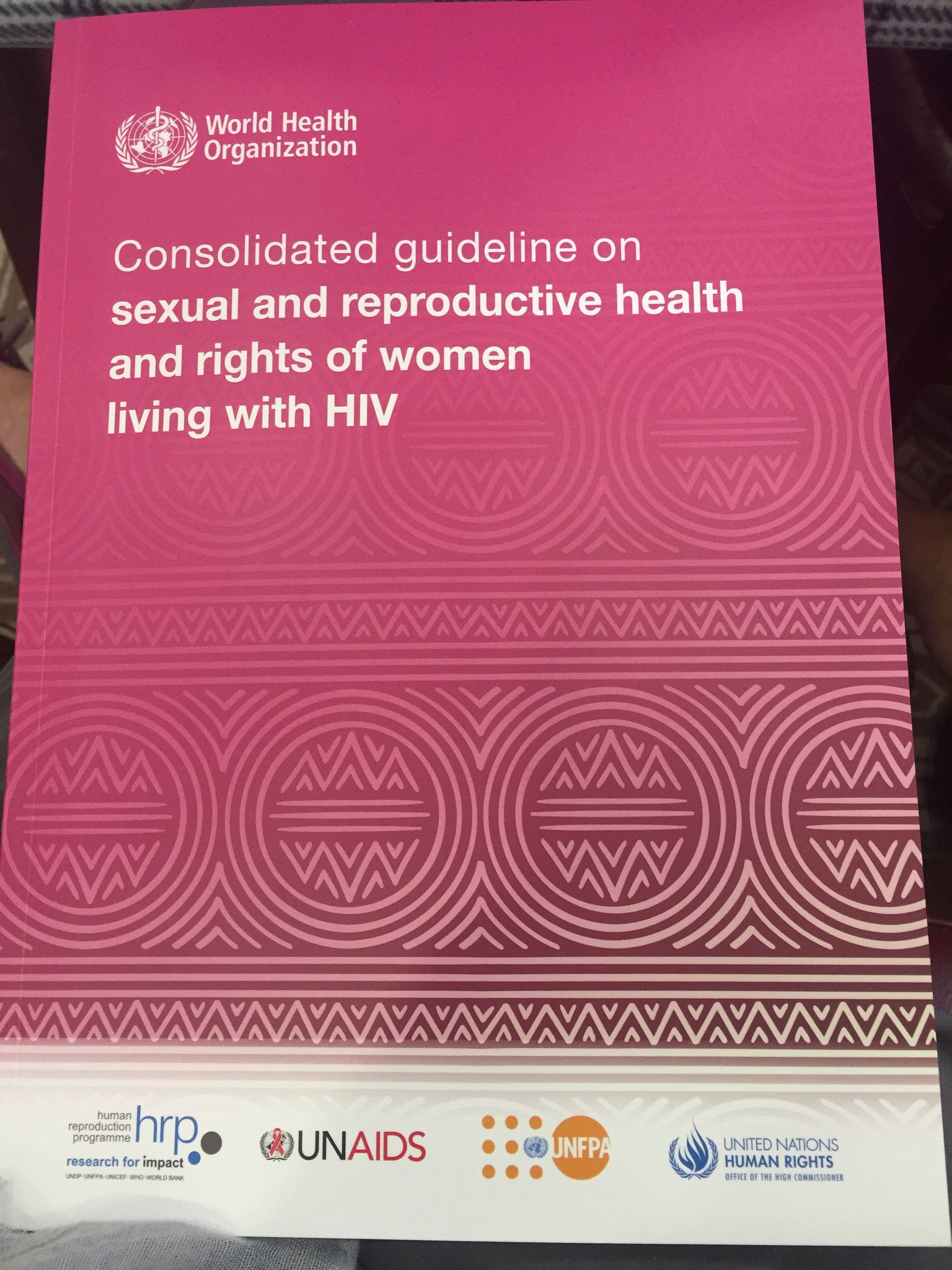 #womenHIVSRHR @RCObsGyn @SalamanderTrust attending the launch of these vital  guidelines developed by women for women living with HIV https://t.co/lUCwk9lRH2
