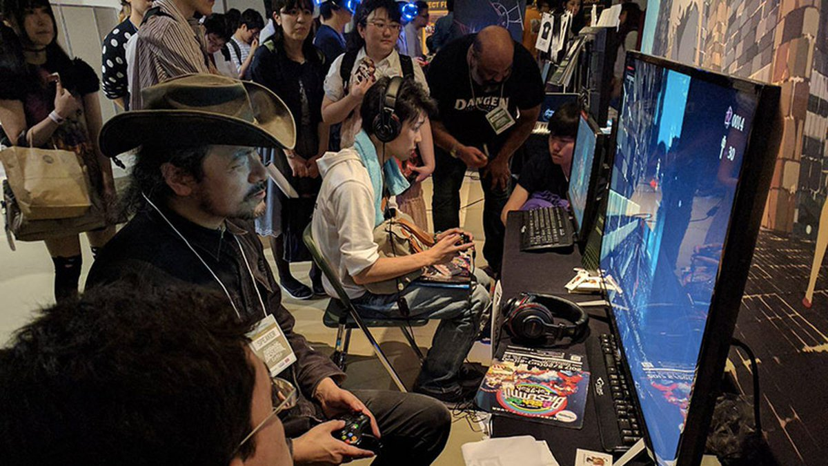 At BitSummit, Castlevania creator gets hands-on with some of the games...