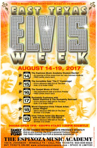 Elvis Week coming to Mineola in August   #Elvis