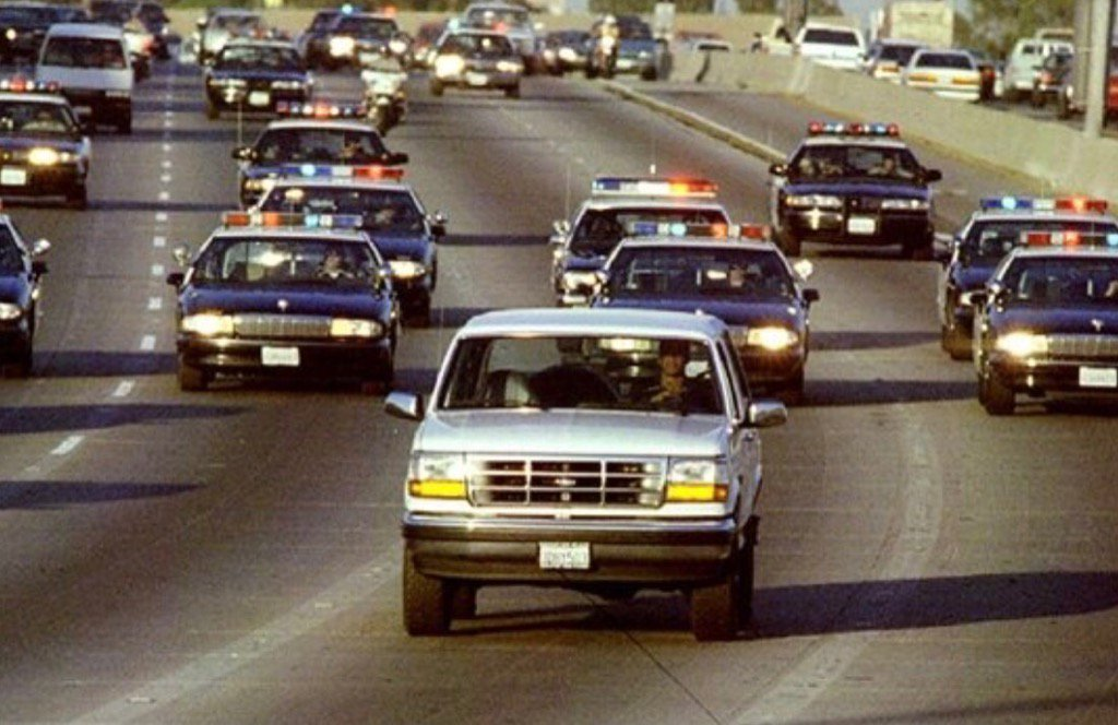 Ford discontinued the Bronco less than 2 years after the O.J. chase. T...