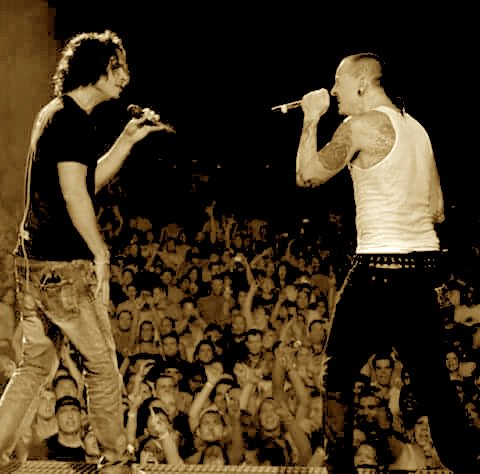 Chester Bennington, Say Hello 2 Heaven. RIP Chris and Chester. https://t.co/AzhGip7sjB