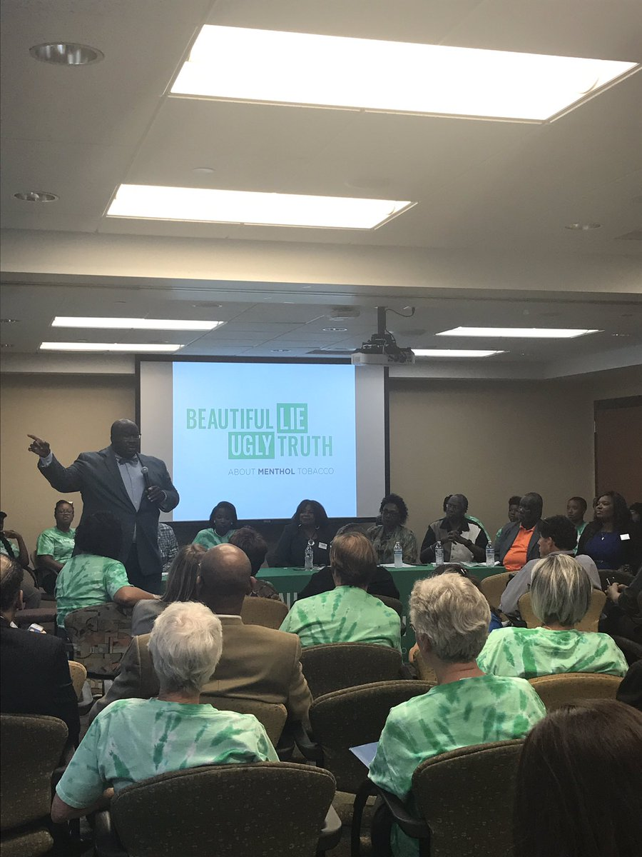 &quot;Let&#39;s send a strong msg to tobacco industry - MN is going to fight to get you out of our lives.&quot;  Sen @jeffreyhayden #uglymenthol #mpls <br>http://pic.twitter.com/k9Kolc1WjM