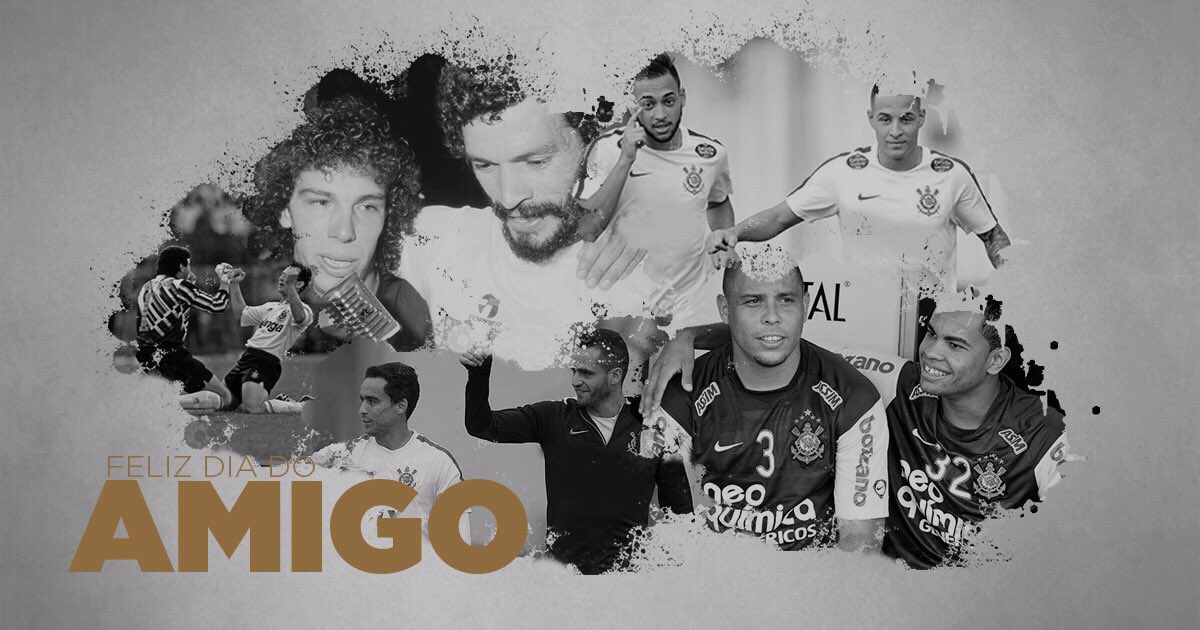 Feliz dia do amigo, #Fiel! 👊🏽⚫️⚪️🤜🏾🤛🏾  #DiaDoAmigo https://t.co/L303Li...