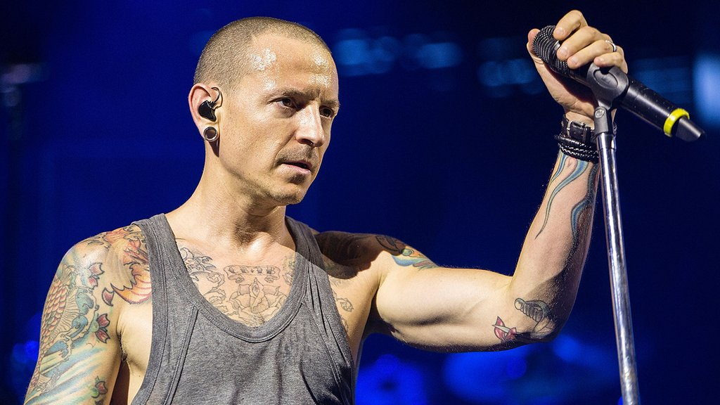 Chester Bennington, lead singer of Linkin Park, has died at age 41 by...