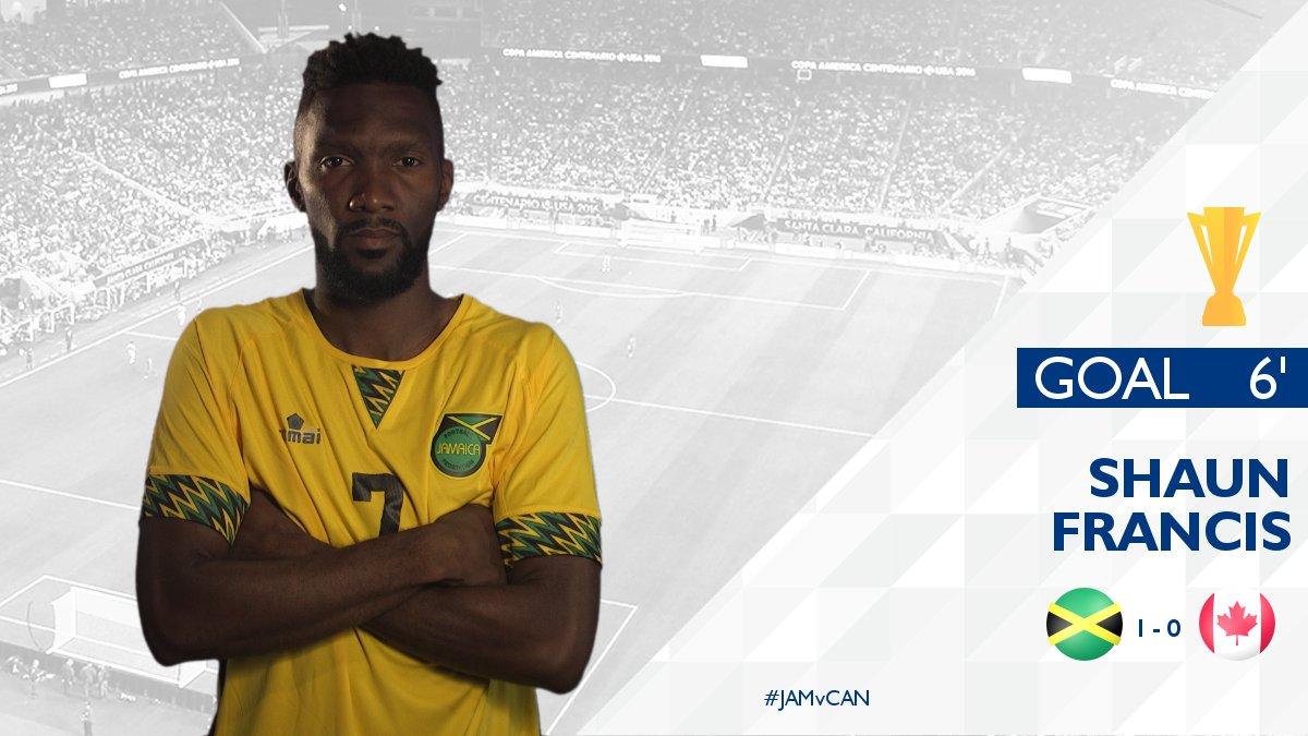 Jamaica, Shaun Francis  No. #7