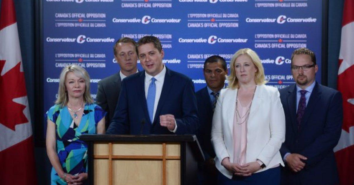 Parti conservateur: que des unilingues anglophones dans l'équipe de premier plan d'Andrew Scheer (SRC) https://t.co/xeJphczQ61