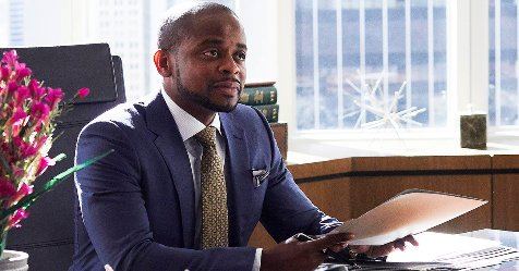 #Suits' newest lawyer (@DuleHill) will go toe-to-toe with Mike at the...