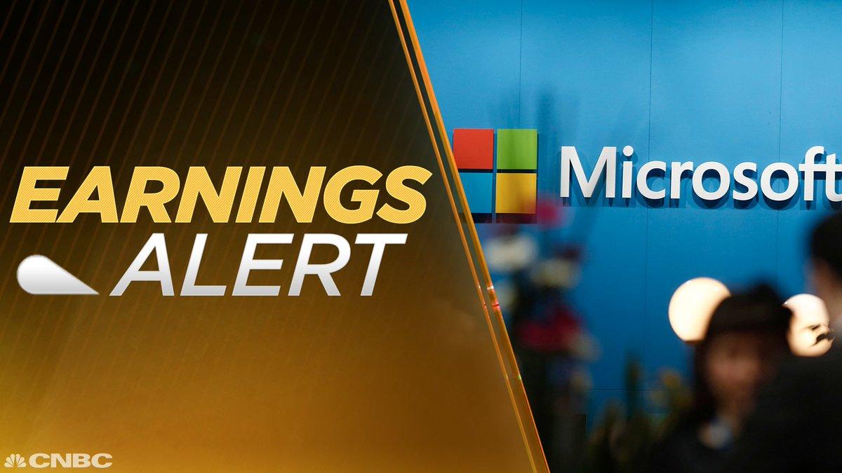 EARNINGS: Microsoft Q4 EPS $0.98 Adj. vs. $0.71 Est.; Q4 Revs. $24.70B vs. $24.27B Est. • $MSFT https://t.co/dbESxx49ho