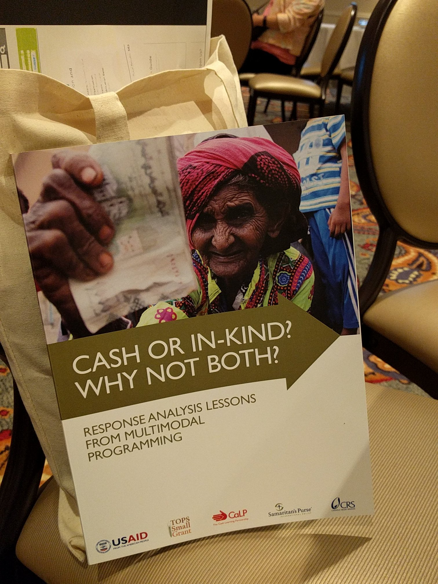 #ksdc17 | fresh off the press: https://t.co/0qLK5WxtPB @CatholicRelief @cashlearning #safetynets https://t.co/Jm0CPZm4aW