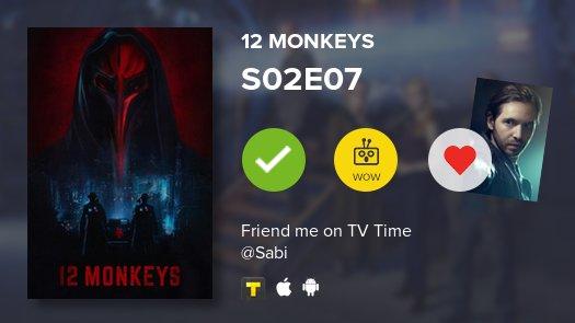 12 Monkeys ~ S02E07  ~ #12monkeys  https://t.co/FzsliDtuhf #tvtime htt...
