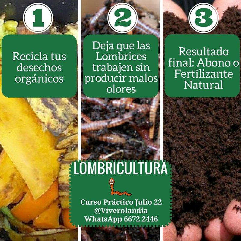 le ayudas al y ademas produces abono natural con un casero