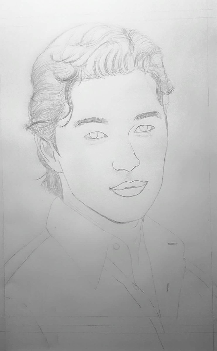 #sketch of Rick Yune #art #sketching #facedrawing #mendrawing #blackandwhite<br>http://pic.twitter.com/4LMR9tO4UX