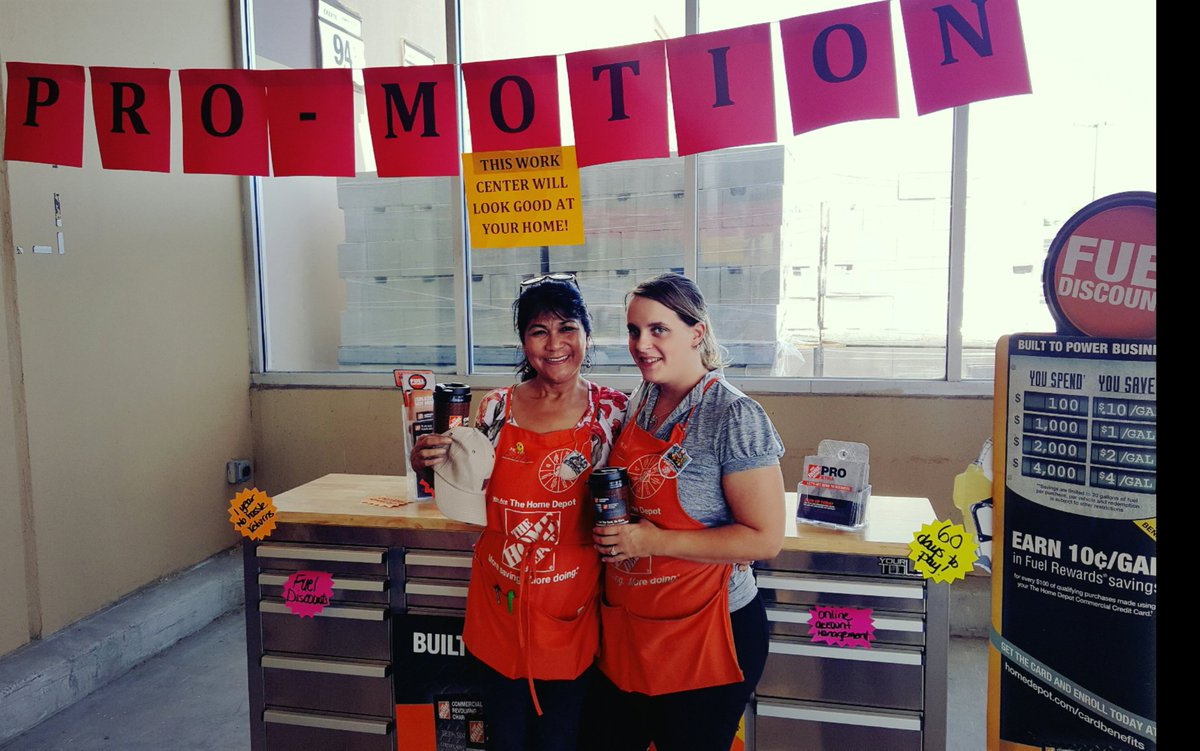 home depot poway on twitter jessica edita two of poway home depots credit monsters thd8949