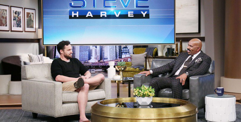 UP NEXT, @MrJakeJohnson gets a style makeover + @IAmSteveHarvey's daughter Morgan helps a woman plan her kid's birthday party! #SteveHarvey