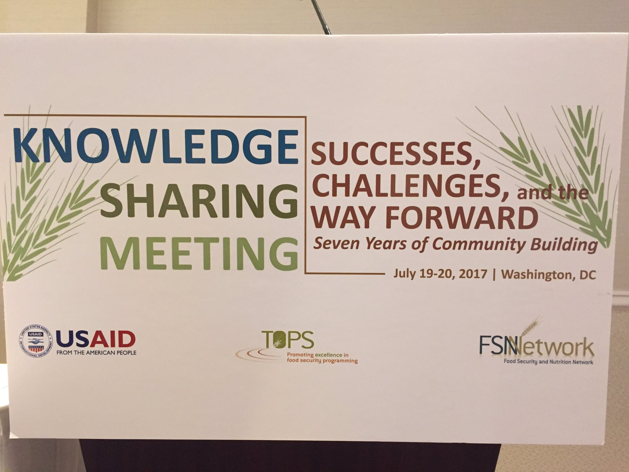Thanks to @FSNnetwork for a fantastic two days filled with collaborative learning! #KSDC17 https://t.co/wHhFqL4Ra1