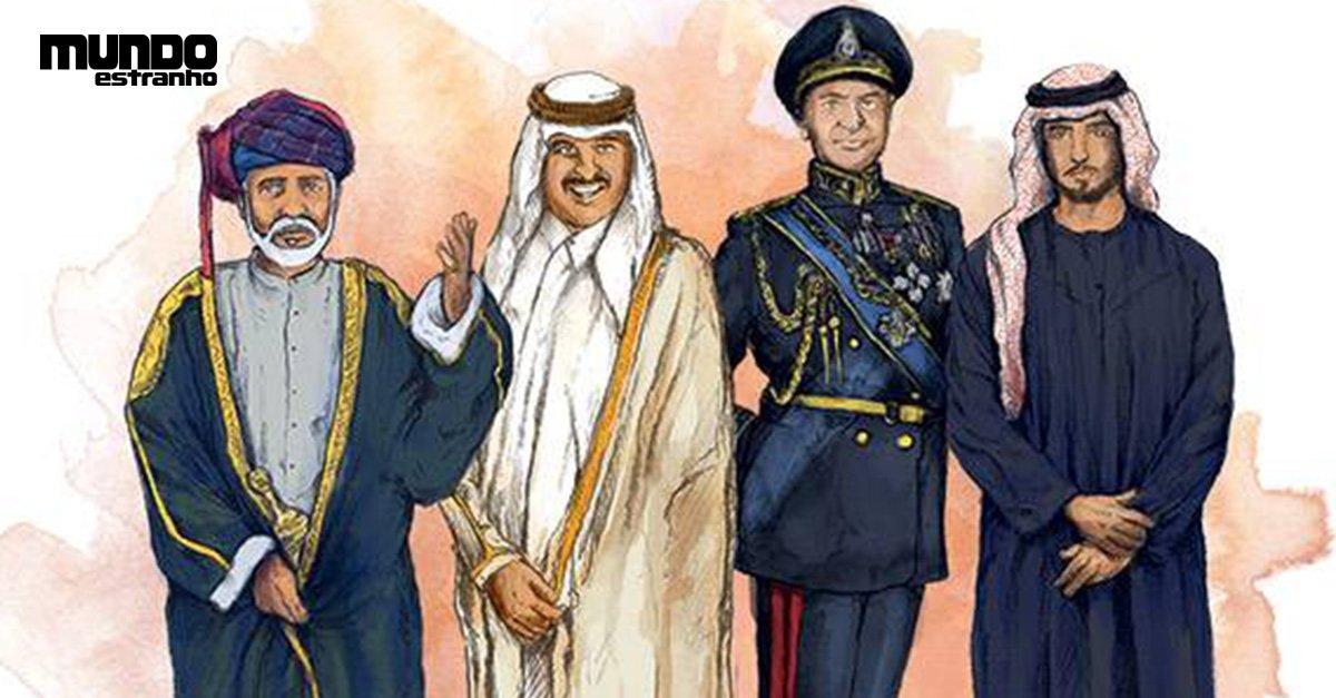 Qual a diferença entre sultão, emir, xeique e xá? https://t.co/EDhwCAzde5