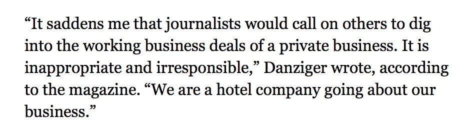 1/ We've started reporting out the details of the Trump Organization's latest hotel chain. (They're not thrilled.) https://t.co/Rzbubl1iyJ