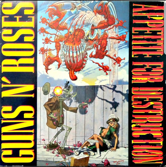 HAPPY BIRTHDAY APPETITE FOR DISTRUCTION Best album ever