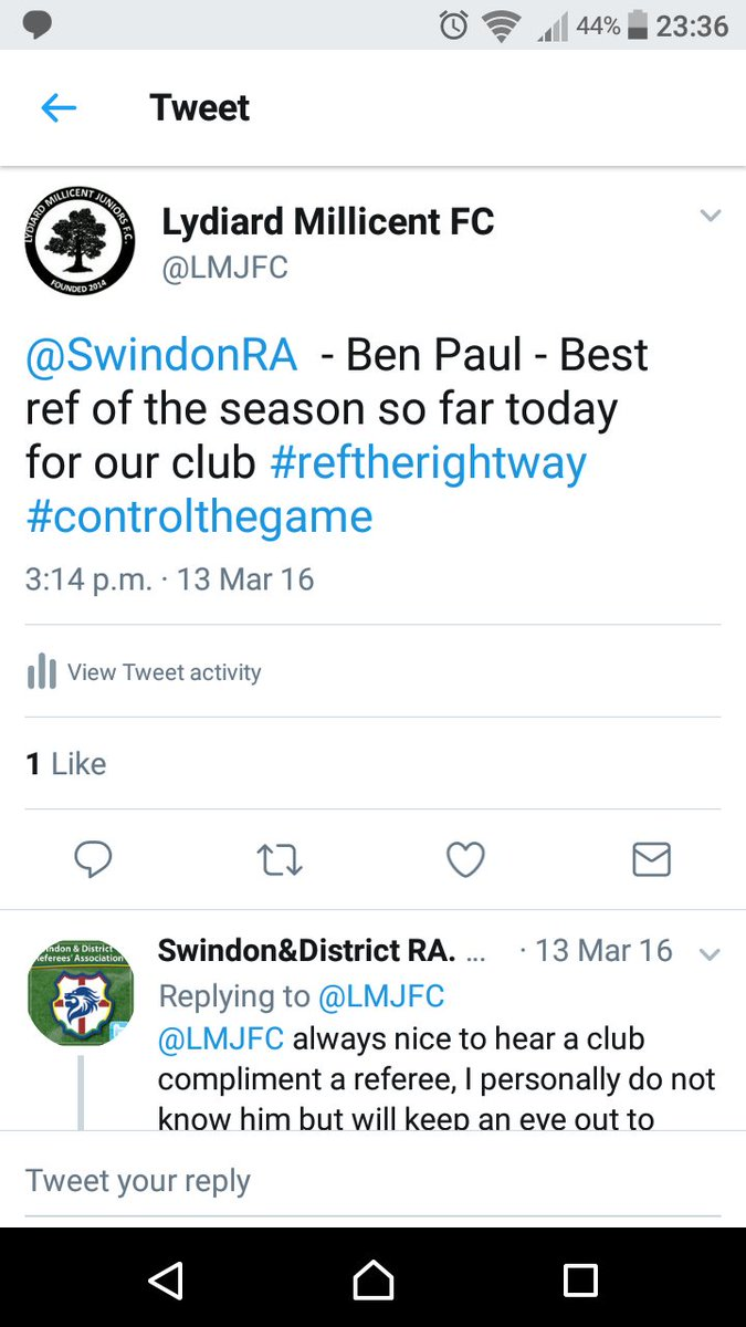 @WiltsCountyFA In March 2016 we knew he was going to be good! Well done Ben!