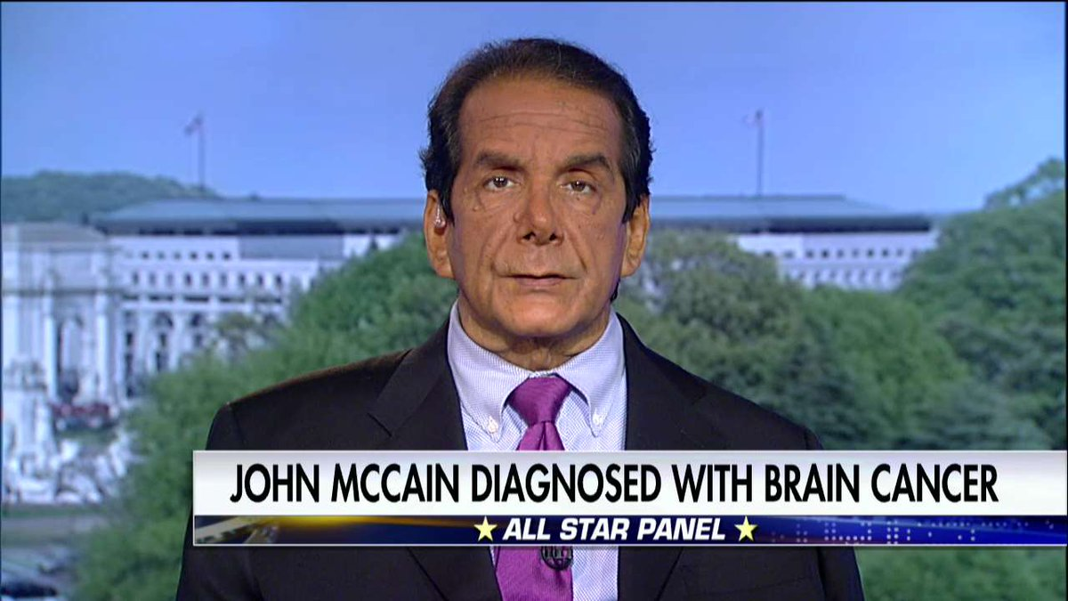 .@krauthammer: 'I think [@SenJohnMcCain's] sort of the spirit of Reaganism.' #SpecialReport