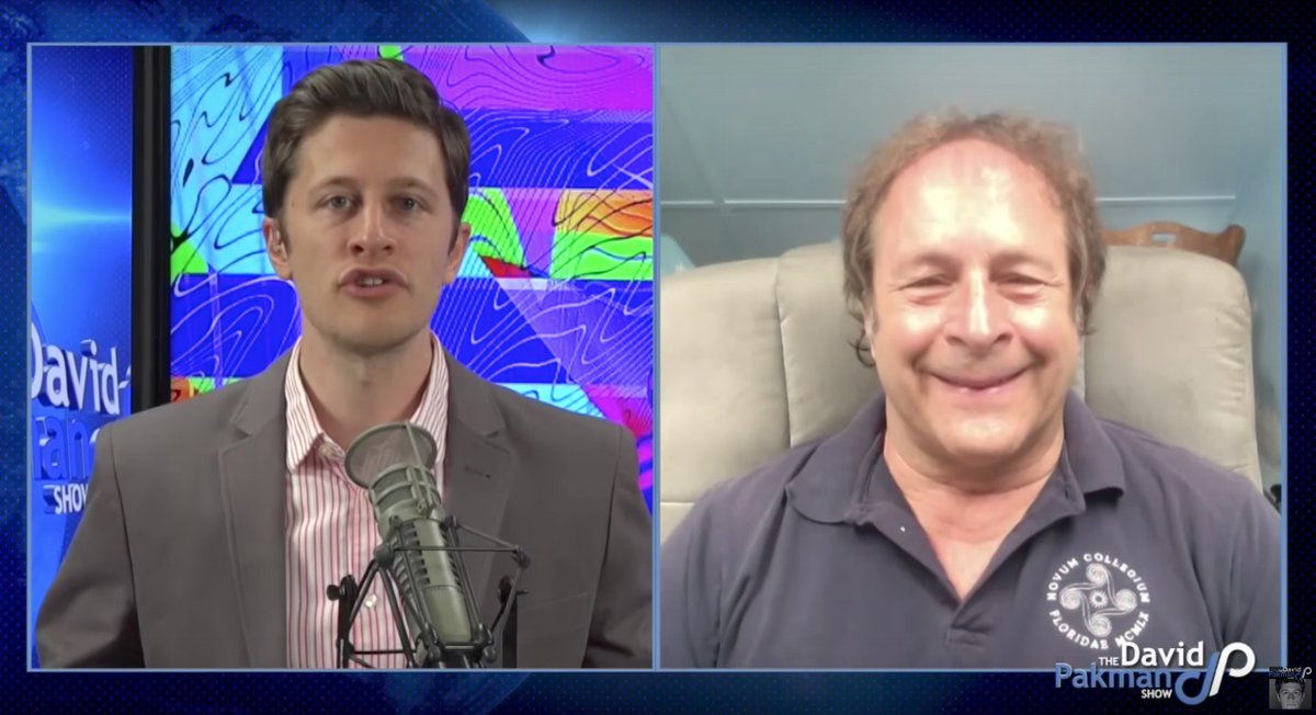 .@RickDoblin discusses the past, present, and future of #psychedelics as adjuncts to #therapy on @DavidPakmanShow:  http:// youtu.be/rLal510H8Ag  &nbsp;  <br>http://pic.twitter.com/Z3mhcACfW3
