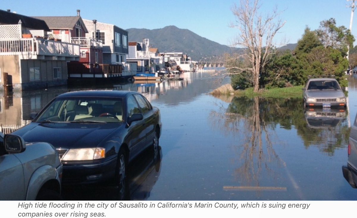 Rising seas spark tobacco-style lawsuits in California  http://www. climatecentral.org/news/rising-se as-climate-lawsuits-california-21627 &nbsp; …  #ClimateDisruption #ExxonKnew #ShellLied<br>http://pic.twitter.com/rpFoBrRURZ