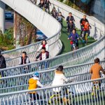 China has just built the world's longest elevated cycle path https://t.co/UAFuc4PCiG