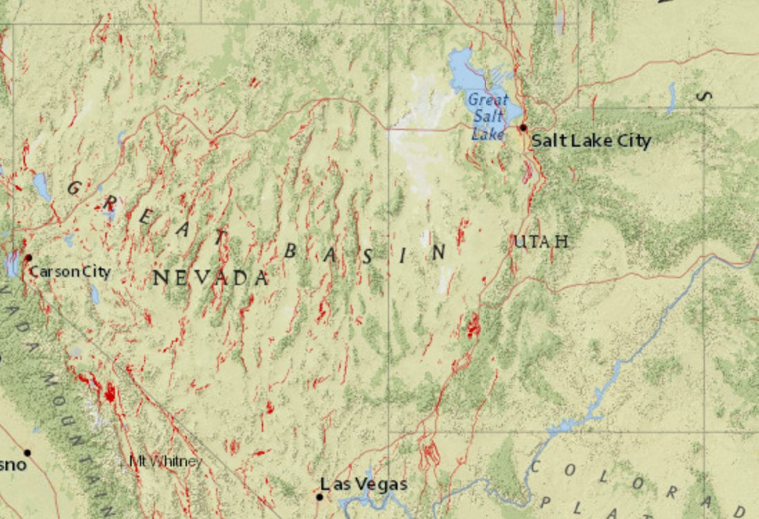 Are In The Great Basin Screenshot Of A Atusgs Map Link Here Https Earthquake Usgs Gov Earthquakes Eventpage Us20009ynd Map Pic Twitter Com Hdmegrsnlu