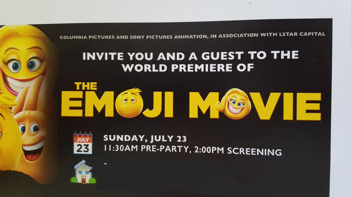 When your shitposting gets you invited to the world premiere
