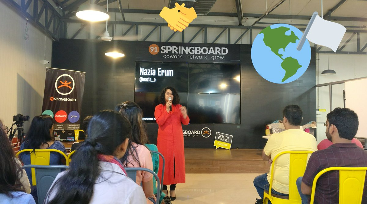 Thought provoking talk by @nazia_e on #Equality at @CM_Gurugram! Let&#39;s strive for a world based on understanding &amp; acceptance!<br>http://pic.twitter.com/D0pzAeh0PM
