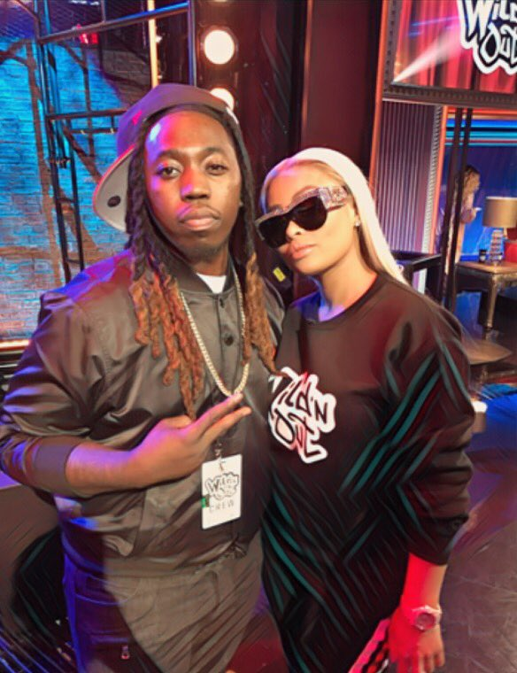 @nickcannon fenna have @BLACCHYNA on @mtvwildnout  Tonight  tune in y&#39;all know @robkardashian is. ® #Ncredible <br>http://pic.twitter.com/q9nqP3S2M2