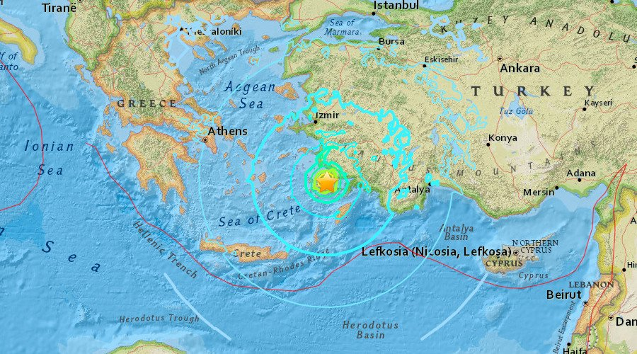 JUST-IN: 2 people killed, several injured as quake affects Greek island of Kos – island mayohttps://t.co/78UPxo4pZsr