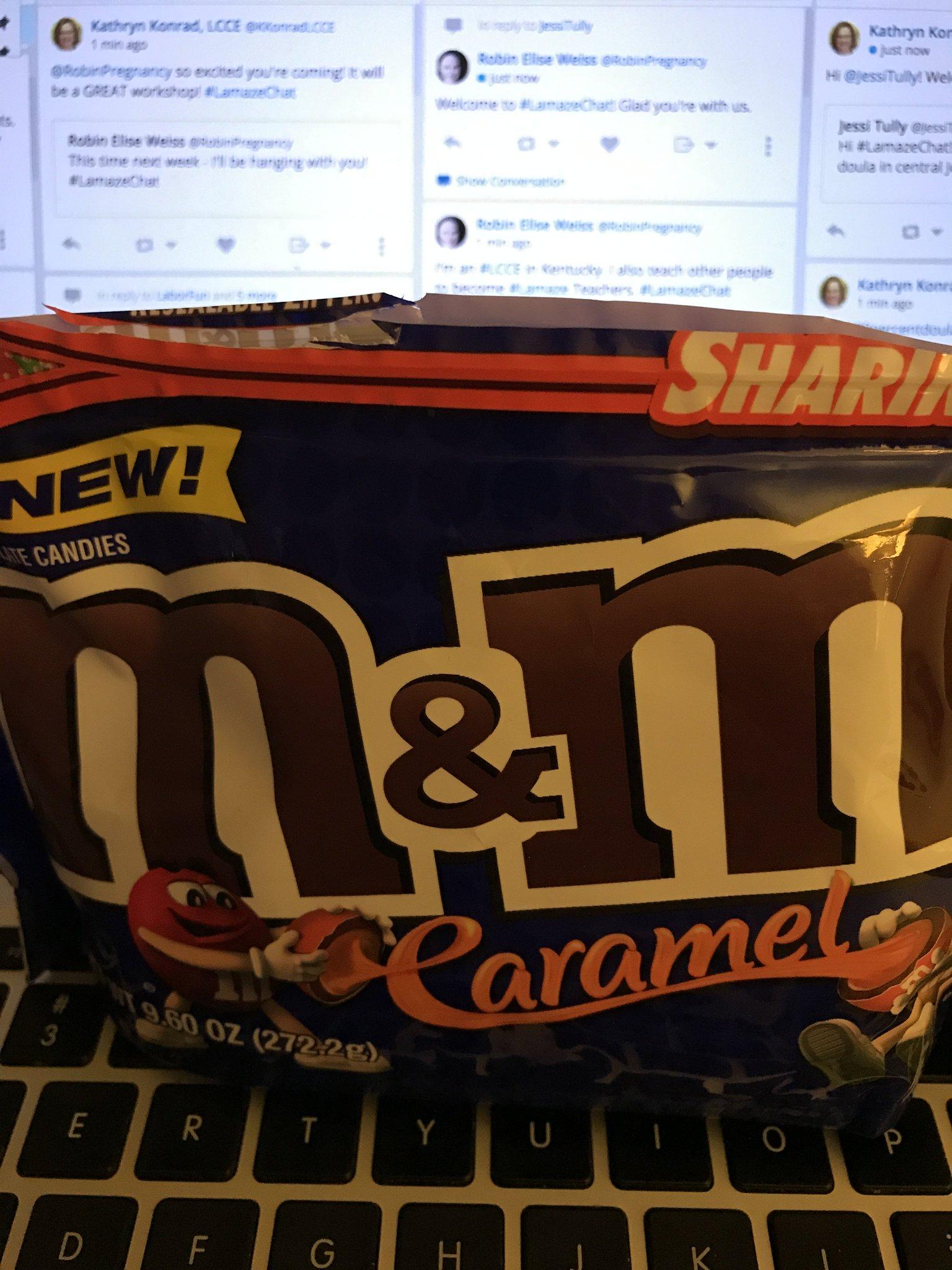 I have snacks for #LamazeChat https://t.co/LDrjnW6ei5