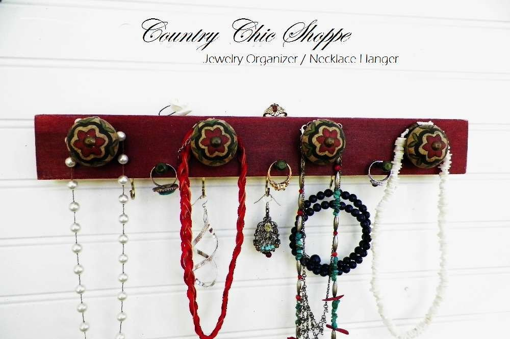Jewelry Organizer in Native Summer Red with Decorative Knobs in Beau…  http:// etsy.me/2tS5zVM  &nbsp;   #Etsy #DecorativeKnobs <br>http://pic.twitter.com/OJjyrtwnO6